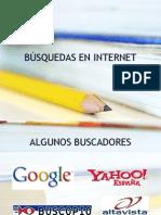 Busquedas en internet