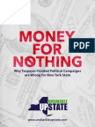 Unshackle Opposes Publicly Financed Campaigns