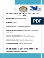 Estandares y Protocolos de Certificacion - Carlos Baas c.