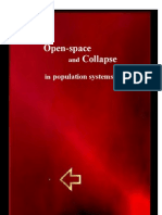 Open-space and Collapse in Population Systems?