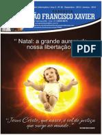 Informativo paroquial São Francisco Xavier – DEZ/2013 JAN/2014