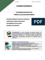 Documento Informativo Comunidad (SF 1-¦ Ciclo)