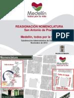Reasignación Nomenclatura San Antonio de Prado (Octubre de 2013)-1