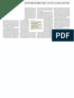 El reto del auditor forense