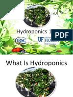 what is hydropnics lisa and dan brenneman hydroponic workshop