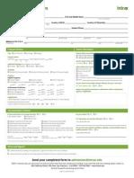 미국 INTRAX 2014 Application