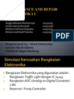Maintenance and Repair Elektronika