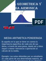 Media Geometrica