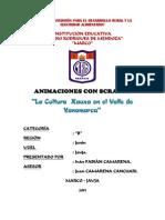 Propuesta de Diseño de Cultura Xauxa en el Valle de Yanamarca-Jauja-Perú