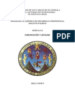 Módulo II Comunicación y lenguaje ciclo común -2013