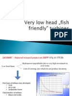 Fish Friendly Turbines - YRC Presentation