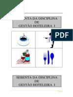 SEBENTA GESTÃO HOTELEIRA