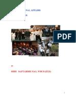 International Affairs & Institutions