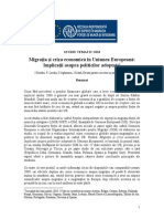 Migration and the Economic Crisis_ Implications for Policy in the European Union[1]
