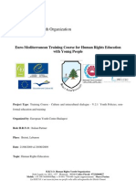 Euro-Mediterranean Training Course for Human Rights Education with Young People -  European Youth Foundation - English
