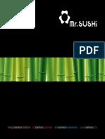 Menu Mr Sushi