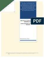 Medicion de Investigacion y Desarrollo en Paises en Vis de Desarrollo