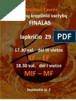 RT Merginų krepšinio finalas