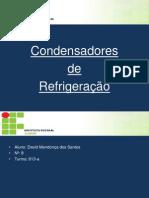 Refrigeração- Condensadores.pptx