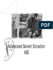 Accelerated Solvent Extraction
