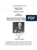 Magnetismo Curativo - Volume 2 (Alphonse Bouvier)