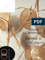 DEMO Cartarescu Mircea Jurnal II