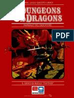 D&D 1ed- 1 Base (Liv. 1-4)- Manuale Del Giocatore
