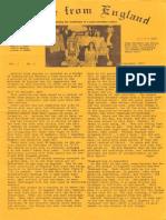 Epistles From England Team-1973-England