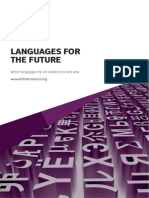 Languages for the Future - British Council