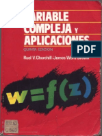 Variable Compleja y Aplicaciones - Ruel v. Churchill - 5ta Ed.