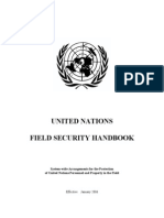 Field Security Handbook UN