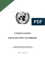 Field Security Handbook UN