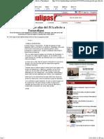 24-11-13 Descartan priísta que alza del IVA afecte a Tamaulipas