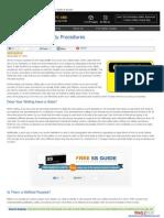 Effective Safety Procedures - Creative Safety Supply LLC