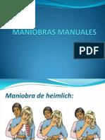 MANIOBRAS MANUALES