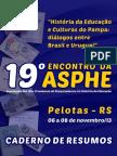 Caderno de resumos do 19º encontro da Asphe-RS
