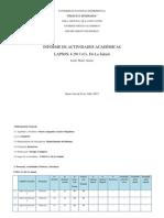 Informe de Actividades 2013