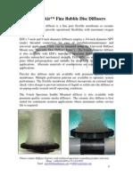 EDI Flex Air Fine Bubble Disc Diffusers