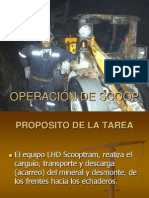 OPERACIÓN DE SCOOP