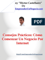 Consejos Prácticos Cómo Comenzar Un Negocio Por Internet