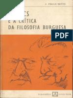 Lukacs e a Critica Da Filosofia Burguesa