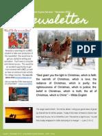 LWES Newsletter December 2013