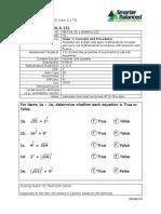 Smarter Balanced Sample N.RN.2
