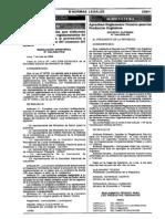 D.S. Nº044-2006-AG (REGLAMENTO TÉCNICO PARA LOS PRODUCTOS ORGÁNICOS)