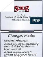 SI-411 Revision Training