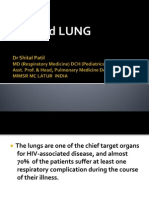 HIV and Lung Dr Shital Patil