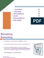 Marketing Presentation on Sensodyne Toothpaste
