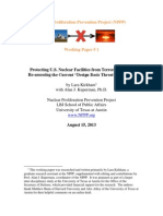 Nuclear Proliferation Prevention Project - Study on Power Plant Security