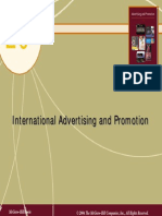 Chap20 International Advertising and Promotion Notes