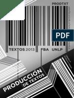 2013 Libro Textos